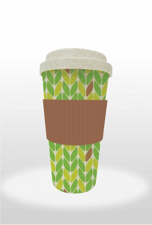 Bamboo Fiber Coffee & Tea Cup
